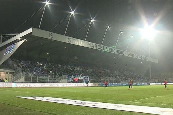 Les supporters du GF38 seront interdits dans le stade et au centre-ville de Bourg-en-Bresse