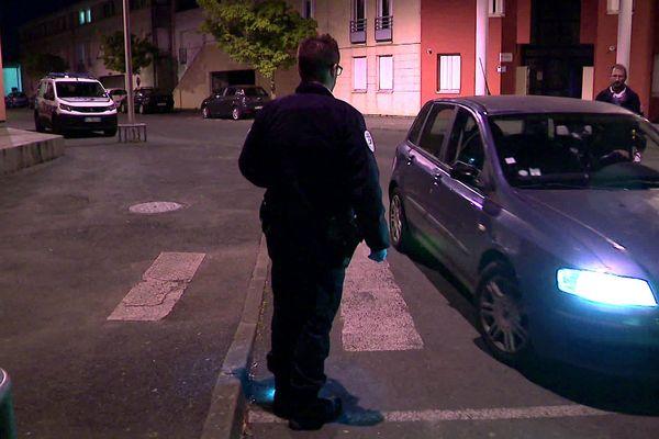 Première nuit avec couvre-feu à Poitiers