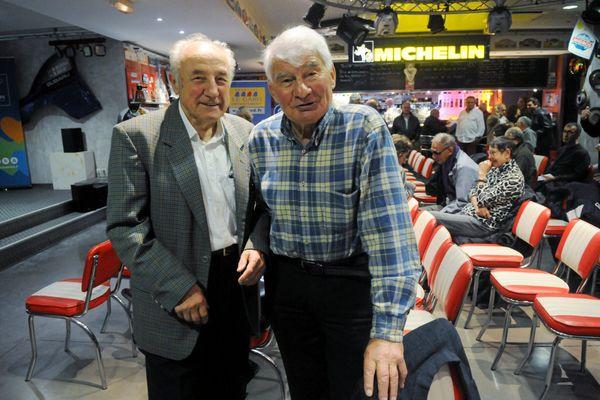 Roland Fangille, fondateur de l'Etoile de Bessèges a rejoint son grand ami Raymond Poulidor, disparu il y a un an.