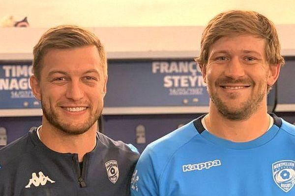Montpellier : le MHR récupère ses 2 joueurs champions du monde de rugby Pollard et Steyn - 19 novembre 2019.