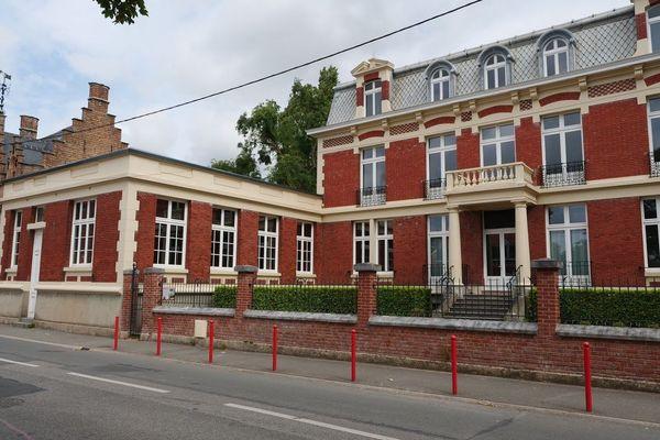 La maison Decanter, à Steenwerck, qui servit de poste de commandement à l'Etat-major français en mai 1940.