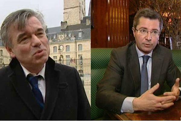 Alain Houpert et Emmanuel Bichot en lice à l'UMP pour la mairie de Dijon