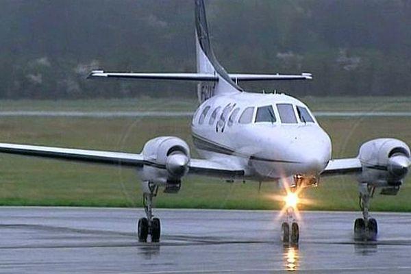 Un avion sur le tarmac dijonnais.