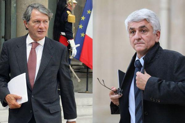Dans un tweet, le maire de Deauville critique les propos d'Hervé Morin, suite à l'affaire Benalla