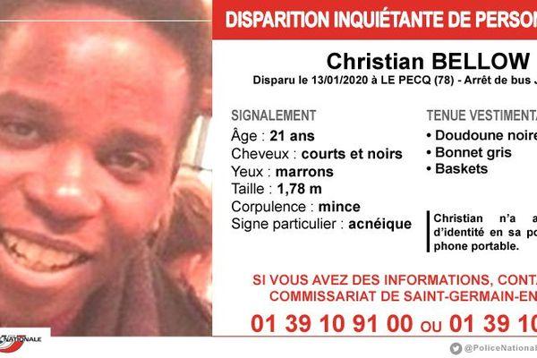 Si vous avez des informations pouvant contribuer à l'enquête, la police demande de contacter le commissariat de Saint-Germain-en-Laye : 01 39 10 91 00 ou 01 39 10 91 28.