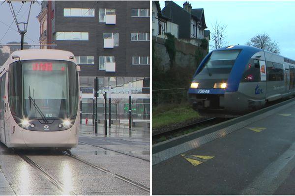 Avoir un tramway ou garder son train ? C'est le débat qui agite les montivillions.
