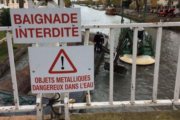 Villeneuve-lès-Béziers (Hérault) - opérations de recherche de munitions et de déminage jusqu'à jeudi - 5 novembre 2018.