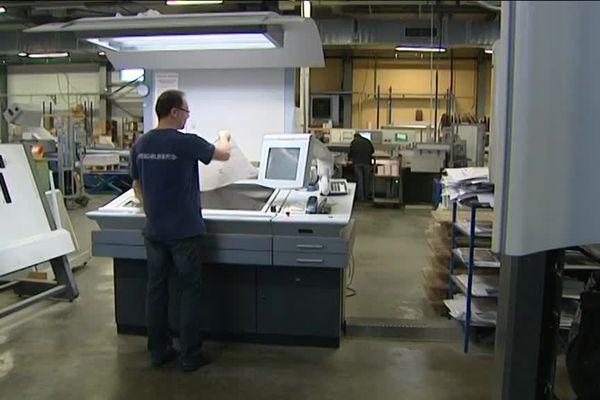 L'imprimerie Schraag à Trévenans (90)