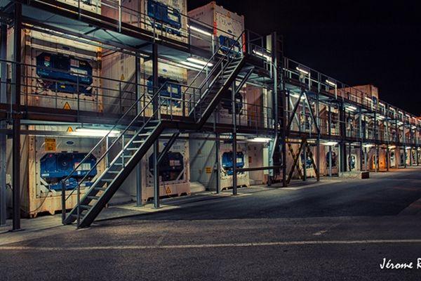 Une des photos de sites industriels de Jérôme Retru