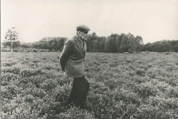Maurice Genevoix à la fin des années 1970