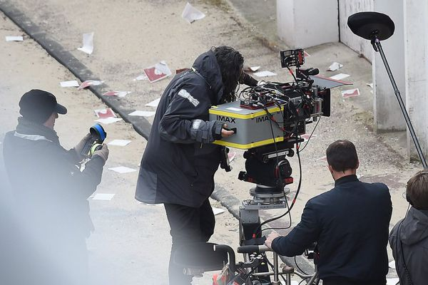 Le tournage de Dunkirk, dans les rues de la ville