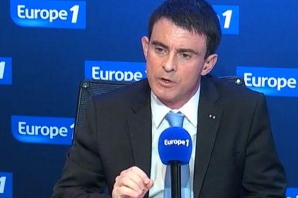Manuel Valls sur Europe 1 ce lundi.