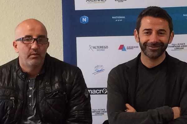 Madjid Adjaoud et Nicolas Usaï