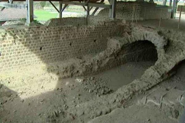 Les vestiges des thermes gallo-romains de Chassenon comptent parmi les plus importants de l'ancienne Gaule.