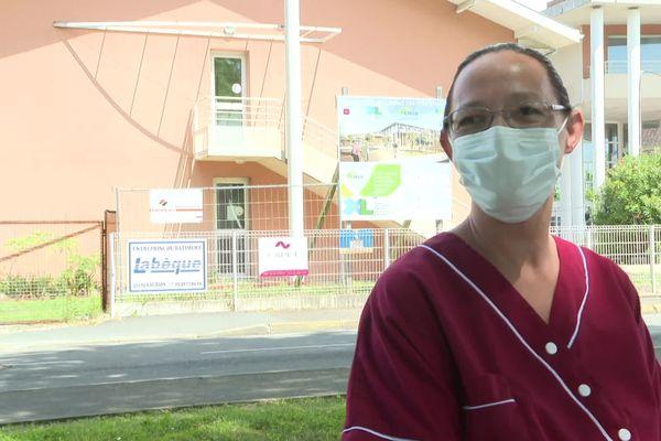 Béatrice a pu retrouver du travail cet été dans un Ehpad de Soustons, dans les Landes.