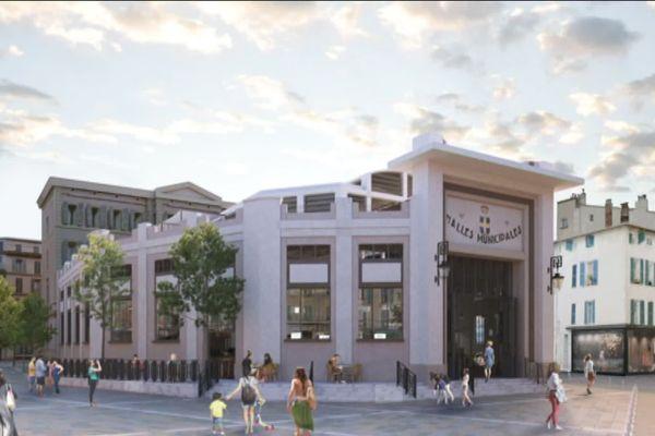 Les halles de Toulon à l'horizon 2020.