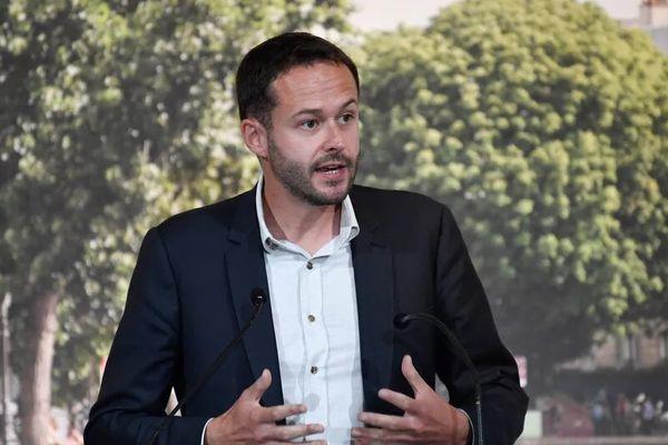 L'adjoint écologiste de la mairie de la Paris David Belliard, chargé de la transformation de l'espace public, des transports et des mobilités.