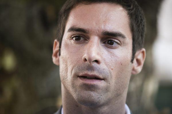 Julien Odoul, président du groupe RN à la région Bourgogne - France-Comté