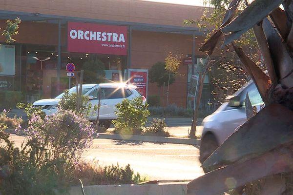 Une boutique Orchestra-Prémaman à Saint-Aunès, près de Montpellier - 2020.