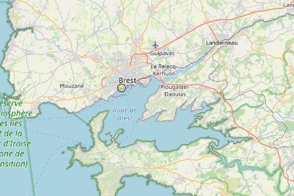 La terre a à nouveau tremblé à Brest