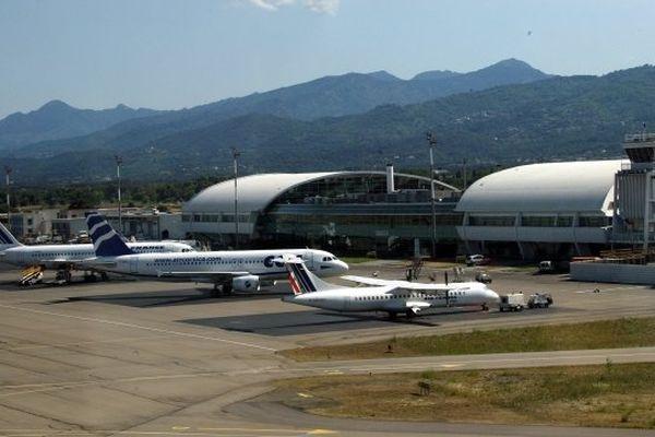 L'aéroport international de Bastia-Poretta (Illustration)