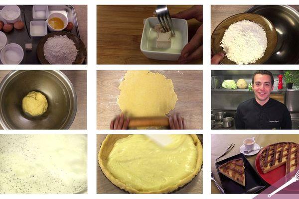 Les étapes de la recette de la tarte au Libouli