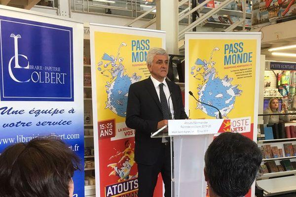 20 mai 2019- Hervé Morin à la librairie Colbert