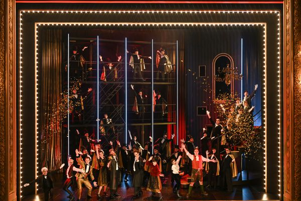 L'opéra La Chauve-souris sera diffusé gratuitement ce mercredi 9 juin à 20 heures en plein air sur grand écran dans 20 villes bretonnes.