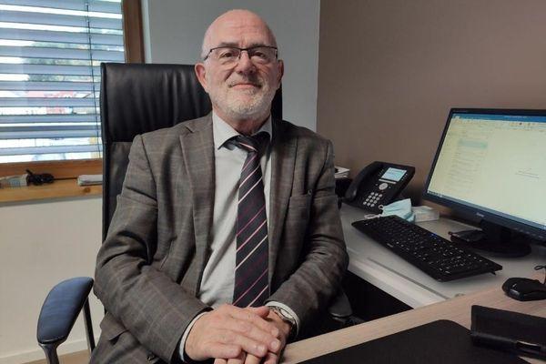 Jean Bernard Martin maire de Cocheren et président du SCoT du Val de Rosselle