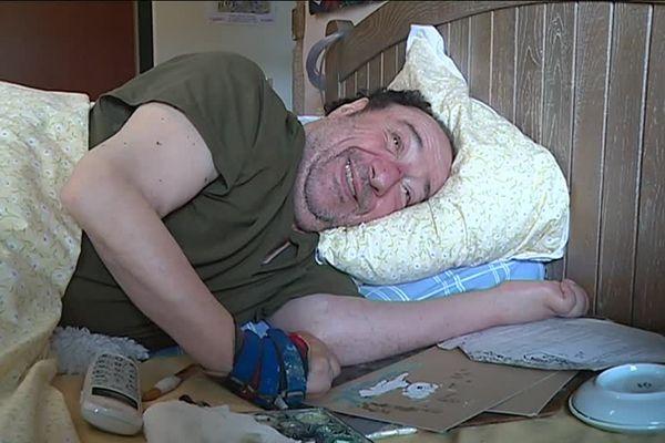 Patrice Rouleau dessinait son ami Kaïkou depuis son lit, après un accident l'ayant rendu tétraplégique lorsqu'il avait 20 ans.