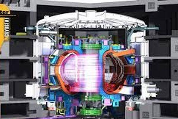 Le tokamak, le coeur d'ITER.