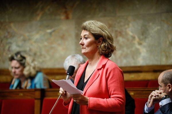 Sophie Auconie, à l'Assemblée nationale.