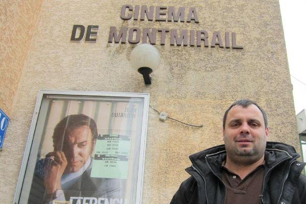 Olivier Defossé, exploitant de 30 cinémas en France.