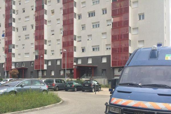 Opération de police à Chenôve