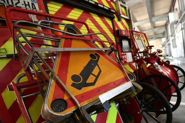 Lespignan - Près d'une vingtaine de pompiers sont mobilisés sur place. Illustration - 23.02.21