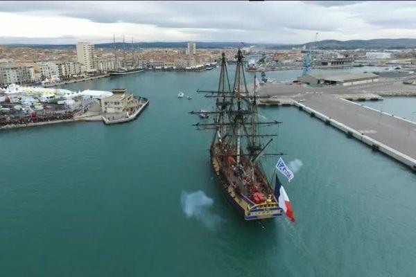 """Tous les ans """"Escale à Sète"""" rassemble les plus beaux voiliers du monde"""