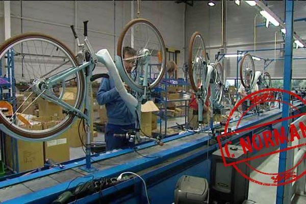 Easybike a décidé en 2013 de relocaliser une partie de sa production en France. 30 personnes ont été recrutées cette année.