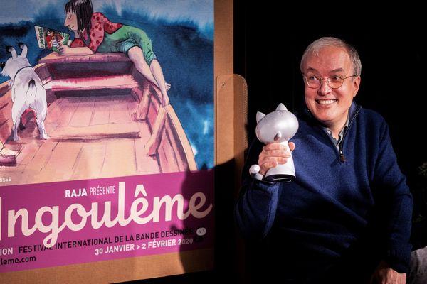 """Emmanuel Guibert reçoit ler """"Grand Prix de la ville d'Angouleme"""""""