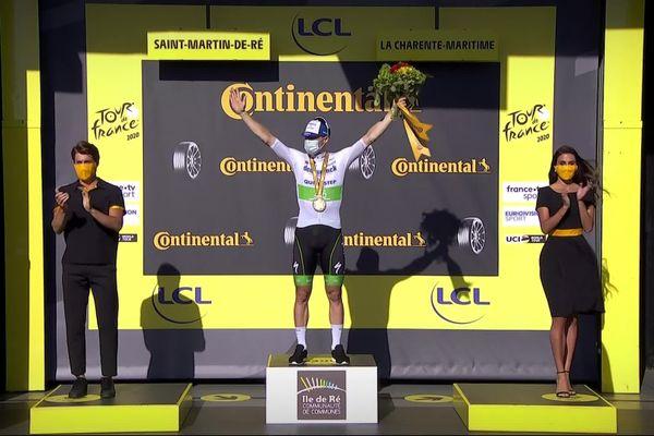 Sam Bennet, vainqueur de la dixième étape du Tour de France