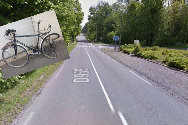 L'accident est survenu sur la RD 959, à proximité de Pommereuil.