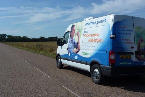 Le fourgon de dépistage s'arrêtera dans 10 communes de Saône-et-Loire.