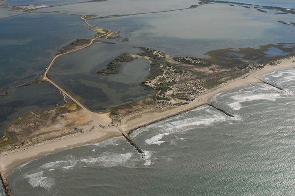 Ses plages de Camargue sont menacées de disparition dans plusieurs années.