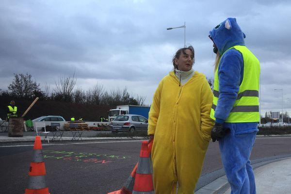 Les gilets jaunes continuent leur mobilisation à Cormontreuil