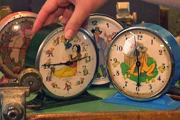 Les célèbres réveils animés Disney de la manufacture Bayard