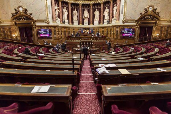 Le sénat est installé au Palais du Luxembourg à Paris