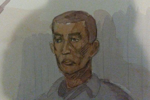 L'accusé rejugé Morad Azizi.