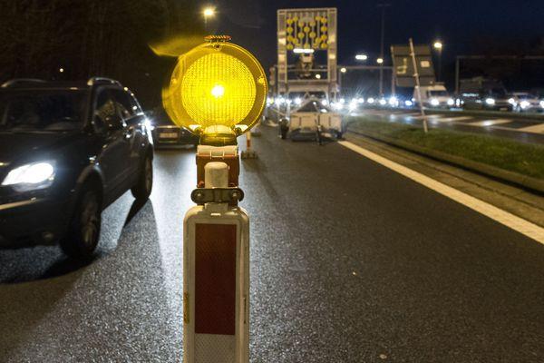L'autoroute A6 est fermée jusqu'au 4 octobre pour des travaux du tram T12 express.