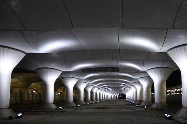 Nuit Blanche 2014 : l'artiste espagnol Pablo Valbuena, 36 ans, va investir les voies encore fermées de la nouvelle gare d'Austerlitz avec une œuvre baptisée Kinematope