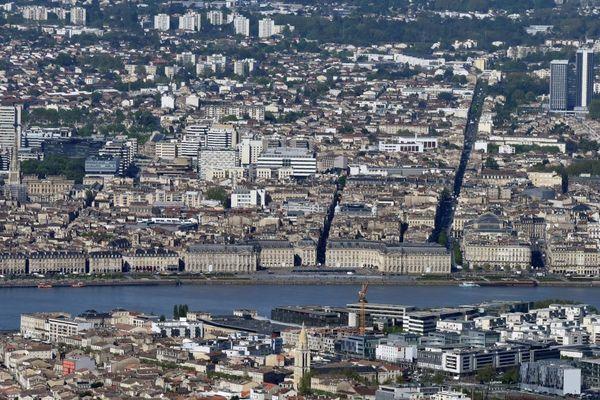 Les prix de l'immobilier de Bordeaux et de sa métropole ont stoppé leur croissance folle (Bordeaux, image d'illustration)
