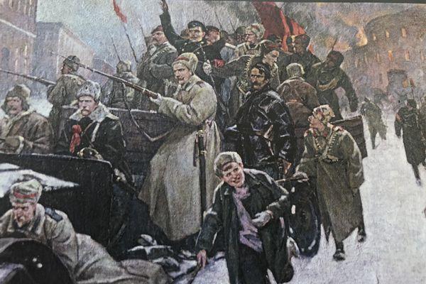 Une histoire d'amour sur fond de révolution russe et d'antisémitisme